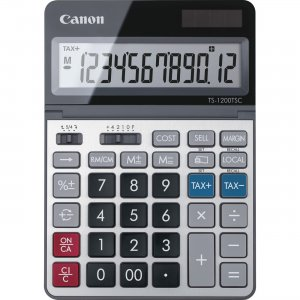Canon 12-digit Desktop Calculator TS1200TSC CNMTS1200TSC