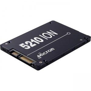 Micron Enterprise SATA QLC SSD MTFDDAK7T6QDE-2AV1ZABYY 5210 ION
