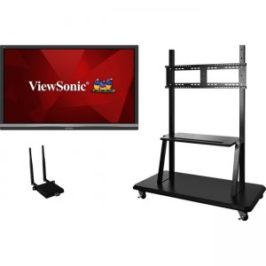 "Viewsonic 55"" ViewBoard 4K Ultra HD Interactive Flat Panel Bundle IFP5550-E2"