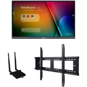 """Viewsonic 65"""" ViewBoard 4K Ultra HD Interactive Flat Panel Bundle IFP6550-E1"""