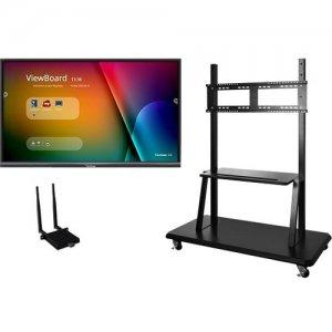 """Viewsonic 65"""" ViewBoard 4K Ultra HD Interactive Flat Panel Bundle IFP6550-E2"""