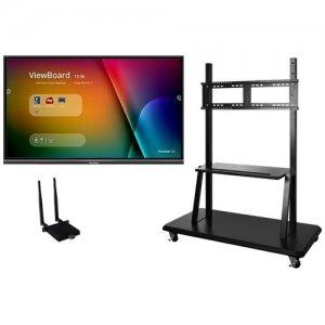 """Viewsonic 75"""" ViewBoard 4K Ultra HD Interactive Flat Panel Bundle IFP7550-E2"""
