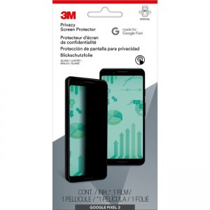3M Privacy Screen Protector for Google Pixel 3 Phone MPPGG009