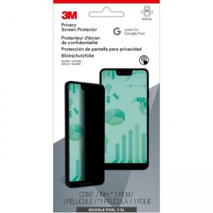 3M Privacy Screen Protector for Google Pixel 3XL MPPGG010