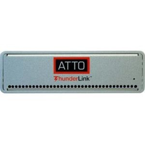 ATTO 20Gb/s Thunderbolt 2 to 16Gb Fibre Channel Desklink Device TLFC-2162-L00