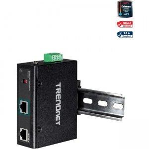 TRENDnet Industrial Gigabit UPoE Splitter TI-SG104