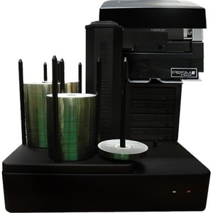 Vinpower Digital Cronus DVD/CD Publishers with Monochrome Thermal Printer - 4 Drives CRONUS-S4T-PRM-BK