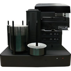 Vinpower Digital Cronus Blu-Ray/DVD/CD Publishers with Monochrome Thermal Printer - 2 Drives CRONUS-BD-S2T-PRM-BK
