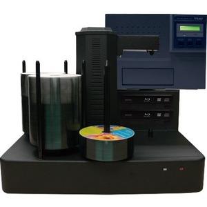 Vinpower Digital Cronus Blu-Ray/DVD/CD Publishers with Color Thermal Printer - 2 Drives CRONUS-BD-S2T-THM-BK