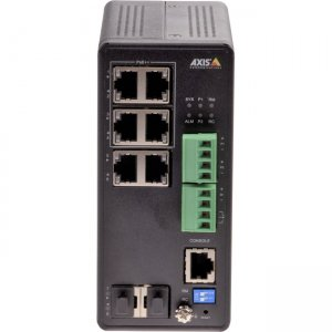 AXIS Industrial PoE Switch 01633-001 T8504-R