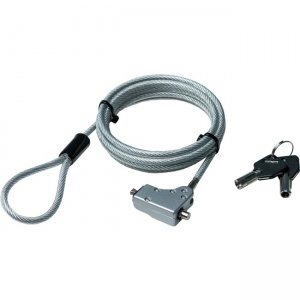 CTA Digital Noble Wedge Slot Security Cable for Notebooks and Desktop PCs LT-SCD