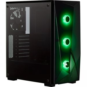 Corsair Carbide Series RGB Tempered Glass Mid-Tower ATX Gaming Case - Black CC-9011166-WW SPEC-DELTA