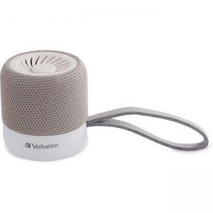 Verbatim Wireless Mini Bluetooth Speaker - White 70232