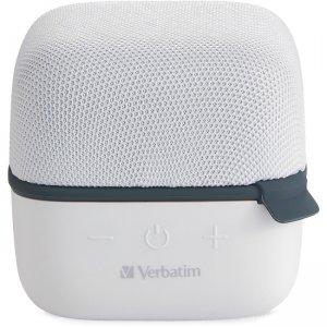 Verbatim Wireless Cube Bluetooth Speaker - White 70227