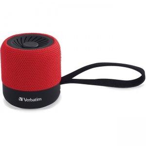Verbatim Wireless Mini Bluetooth Speaker - Red 70230