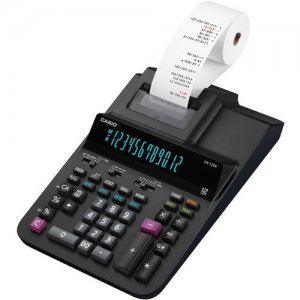 Casio Printing Calculator DR210R-BK DR-210R