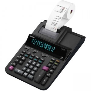 Casio Printing Calculator DR120R-BK DR-120R