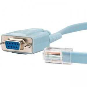 Rocstor Premium 6 ft Cisco Console Router Cable - RJ45 (m) - DB9 (f) Y10A211-BL1