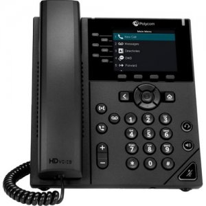 Polycom VVX Skype for Business WW PoE 2200-48830-019 350