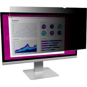"""3M High Clarity Privacy Filter 19"""" Widescreen Monitor HC190C4B"""