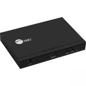 SIIG Full HD HDMI Quad-Split Multi-Viewer Switch CE-H24H11-S1
