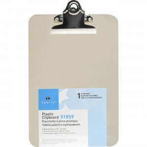 Business Source Compact Plastic Clipboard 01859 BSN01859