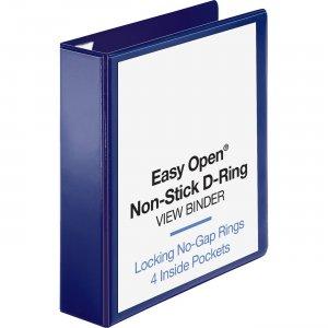 Business Source Easy Open Nonstick D-Ring View Binder 26975 BSN26975