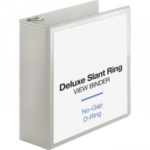 Business Source Slant D-ring Presentation Binder 62471 BSN62471