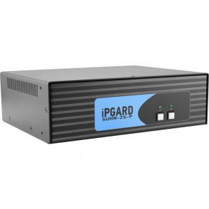 iPGARD Secure 2-Port, Dual-Link HDMI KVM Switch With Dedicated CAC Port & 4K Support SUHN-2S-P