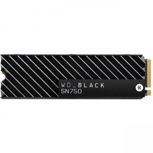 WD 500GB Black SN750 NVMe SSD with Heatsink WDS500G3XHC