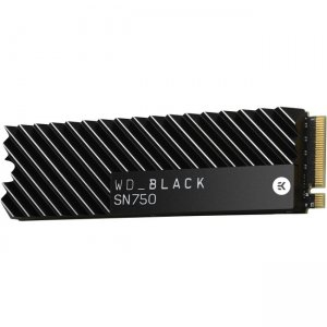 WD 2TB Black SN750 NVMe SSD with Heatsink WDS200T3XHC
