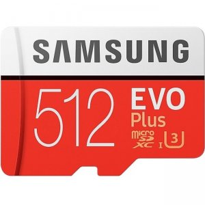 Samsung 512GB EVO Plus microSDXC Card MB-MC512GA/AM