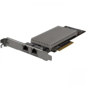 StarTech.com Dual-Port 10Gb PCIe Network Card with 10GBASE-T & NBASE-T ST10GSPEXNDP