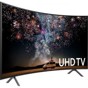 """Samsung 65"""" Class RU7300 Curved Smart 4K UHD TV (2019) UN65RU7300FXZA UN65RU7300F"""