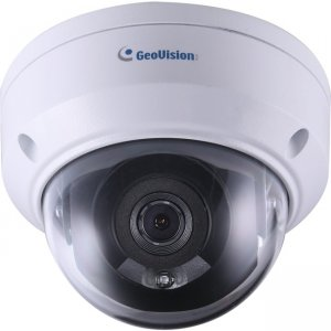 GeoVision 2MP H.265 Low Lux WDR Pro IR Mini Fixed Rugged IP Dome GV-TDR2700-0F GV-TDR2700