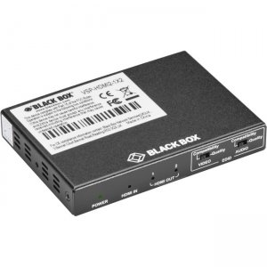 Black Box HDMI 2.0 4K60 Splitter - 1x2 VSP-HDMI2-1X2