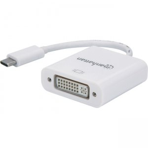 Manhattan SuperSpeed+ USB-C to DVI Converter 152914