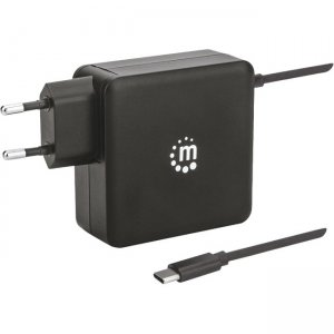 Manhattan Power Delivery Wall Charger with Built-in USB-C Cable - 60 W 180238