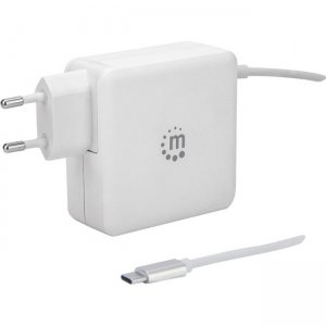 Manhattan Power Delivery Wall Charger with Built-in USB-C Cable - 60 W 180245