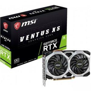MSI VENTUS GeForce RTX 2060 XS 6G OC Graphic Card G2060VXS6C GeForce RTX 2060 VENTUS XS 6G OC