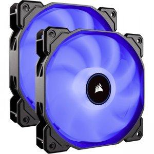Corsair Air Series LED (2018) Blue 140mm Fan Dual Pack CO-9050090-WW AF140