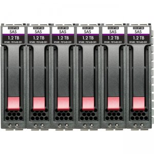 HPE MSA 5.4TB SAS 12G Enterprise 15K SFF (2.5in) 3yr Wty 512n 6-pack HDD Bundle R0P89A