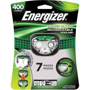 Energizer Vision Ultra Rechargeable Headlamp ENHDFRLP EVEENHDFRLP