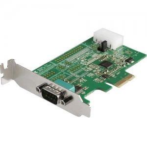 StarTech.com 1-Port RS232 Serial Adapter Card with 16950 UART PEX1S953LP
