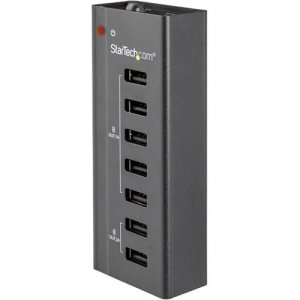 StarTech.com 7-Port USB Charging Station with 5 x 1A Ports and 2 x 2A Ports ST7C51224