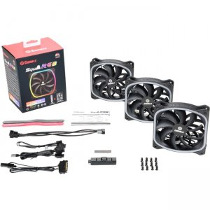Enermax SquA RGB Cooling Fan UCSQARGB12P-BP3
