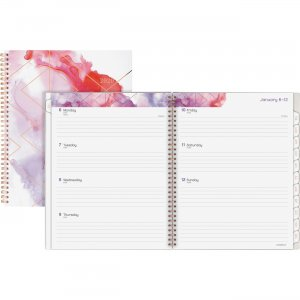 At-A-Glance Cambridge Smoke Screen Weekly-Monthly Large Planner 1275905 AAG1275905