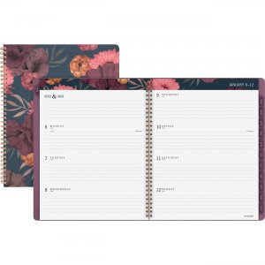 At-A-Glance Dark Romance Weekly/Monthly Planner 5254200 AAG5254200
