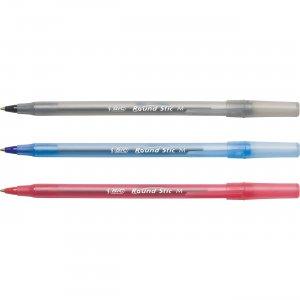 BIC Round Stic Ballpoint Pen GSM240AST BICGSM240AST
