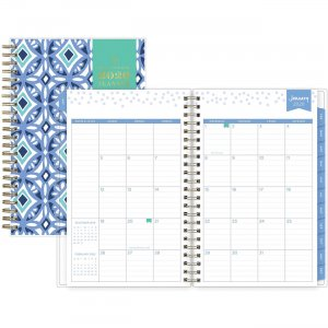 Blue Sky Design Cover Weekly/Monthly Planner 101410 BLS101410